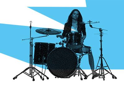 glasbena šola bobni učenje